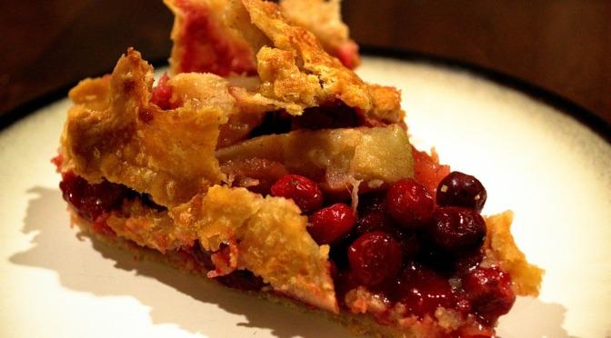 Gluten Free Apple Cranberry Crunch